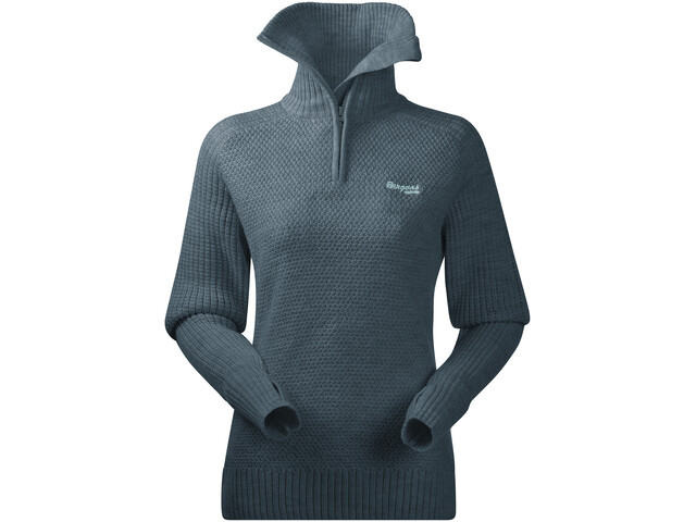 Bergans Ulriken Sweat-shirt Femme, forest frost melange